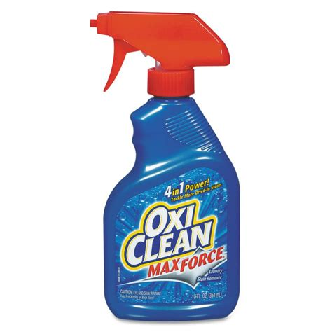 cleaning upholstery with oxiclean oxiclean 12 oz max force laundry stain remover case of