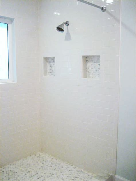 see through bathroom floor the floor tile and accents you see in this shower is