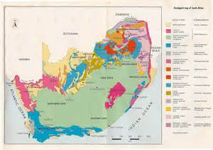 geological map of south africa