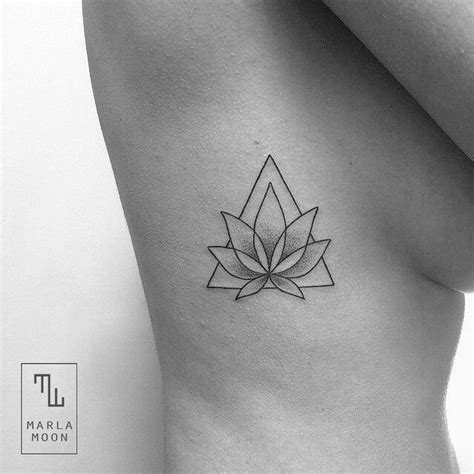 geometric lotus tattoo geometric lotus tattoos lotus