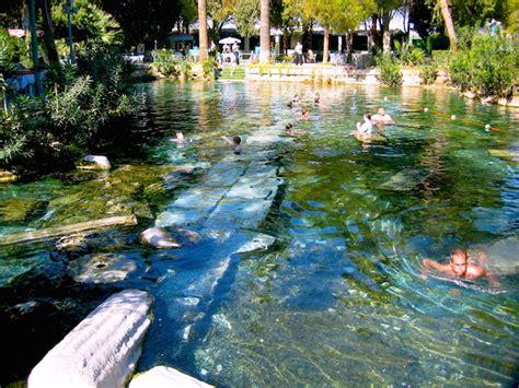 pamukkale thermal pools turkey pamukkale springs