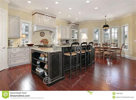 how to build an upscale kitchen island how tos diy luxury kitchen with island stock photo image of dinner
