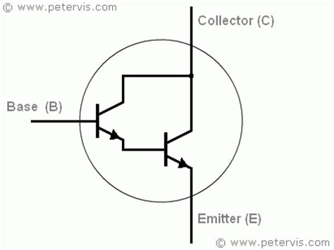 darlington transistor configuration darlington transistor