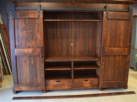 cabinets for entertainment center barn door entertainment cabinets farmhouse