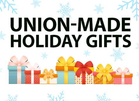 union made in america holiday gift ideas new york city