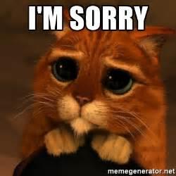 Im Sorry Memes - i m sorry shrek cat v1 meme generator