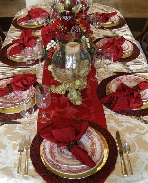 784 best images about christmas table decorations on