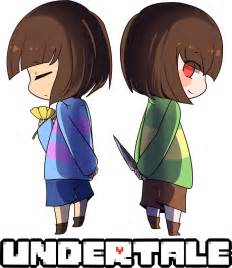 Anime Duvet Cover Quot Undertale Chara And Frisk Quot Stickers By Coolguyenzo