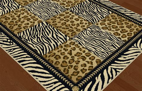 Zebra Stripe Area Rug Multi Color Casual Leopard Print Geometric Squares Area Rug Zebra Stripe Carpet Ebay