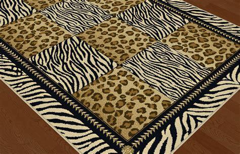 Geometric Print Area Rugs multi color casual leopard print geometric squares area rug zebra stripe carpet ebay