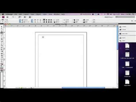 tutorial indesign youtube adobe indesign tutorial part 1 youtube