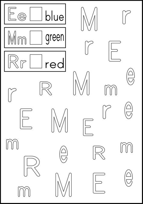 alphabet worksheet letter recognition ideas about alphabet recognition worksheets for