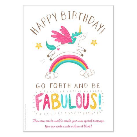 unicorn birthday card template happy birthday unicorn invitations cards on pingg