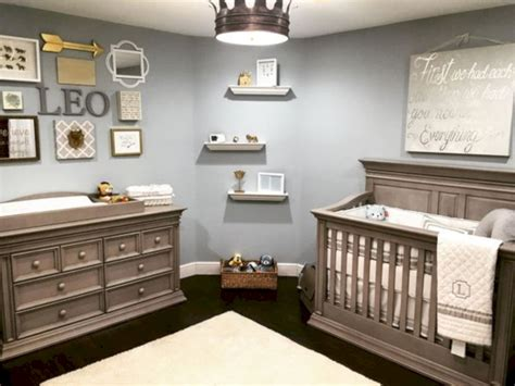 simple baby boy nursery room design ideas roundecor