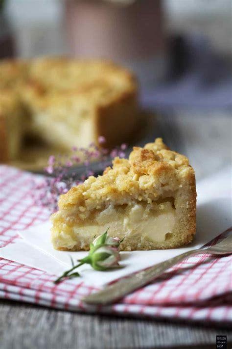 kuchen mit apfelmus und pudding der leckerste apfelmus streusel kuchen fr 228 ulein meer backt