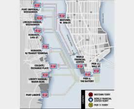 Map Of New York Waterways by Metropoliphone New York