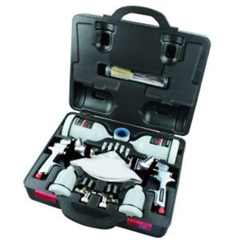 home depot husky paint sprayer husky hvlp and standard gravity feed spray gun kit