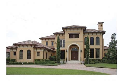 mediterranean home plans with photos eplans mediterranean modern house plan sweeping