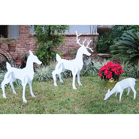 christmas reindeer family set