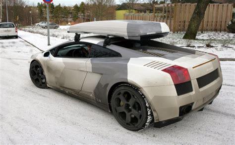 Lamborghini Ski Rack Rumor Report Jon Olsson Ditches The 670 For A Aventador
