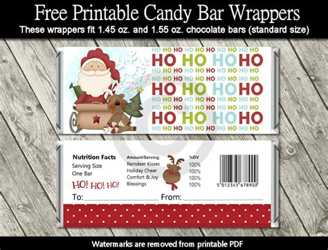 printable christmas hershey bar wrappers diy free printable cartoon christmas tags