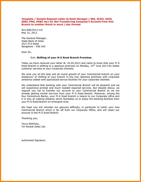 letter format for cancellation of joint account letter format bank account new sle cover letter