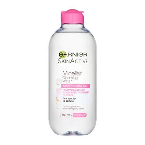 garnier skin micellar cleansing water 400ml feelunique