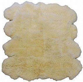 llama skin rug ancient east antiques of asia