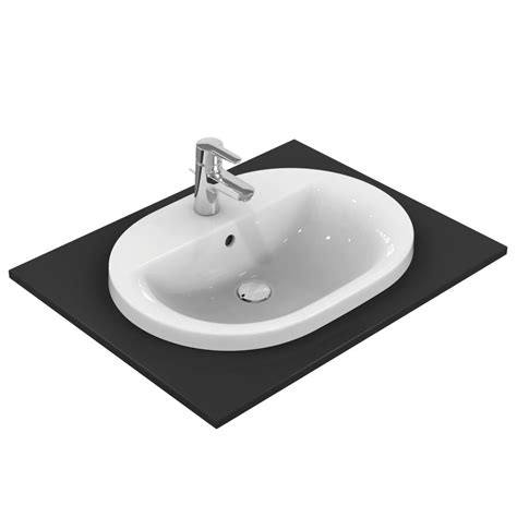 ideal standard e5040 countertop basin oval 62 cm