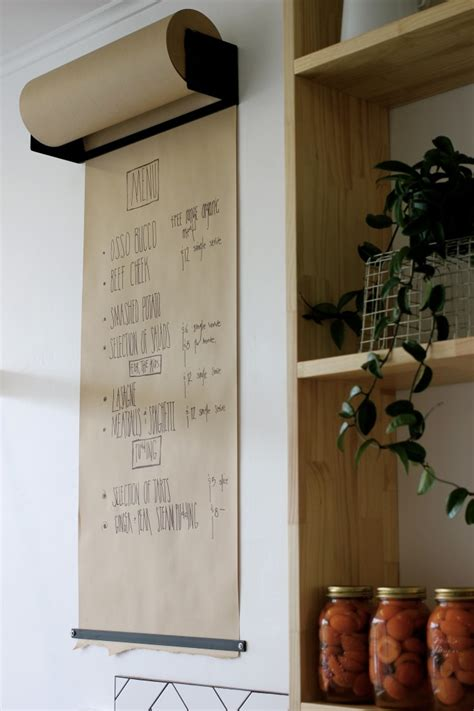 home menu board design exclusive to home culture industrial studio roller
