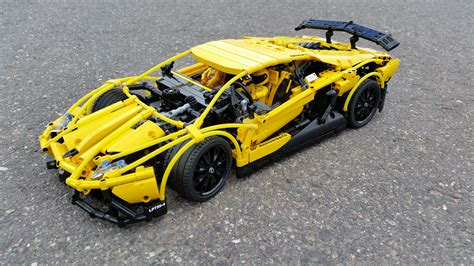 Lego Technic Lamborghini Aventador Yellow Hobby Lego