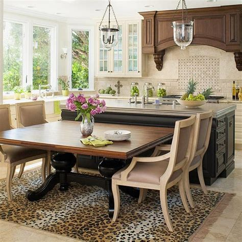 Kitchen Island Dining Table by Best 20 Kitchen Island Table Ideas On