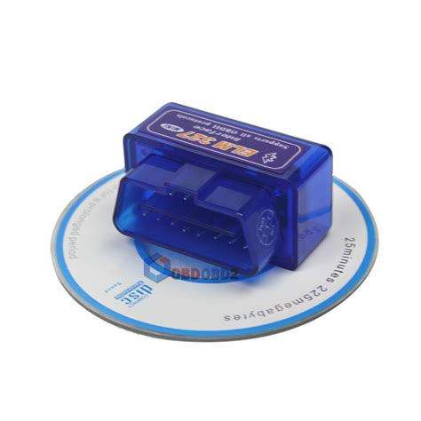 Car Diagnostic Elm327 Bluetooth Obd2 V16 Automotive Test Tool Black mini elm327 bluetooth obd2 v2 1 automotive test tool blue jakartanotebook
