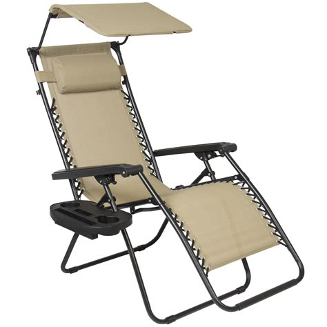 zero gravity folding recliner folding zero gravity recliner lounge chair w canopy shade
