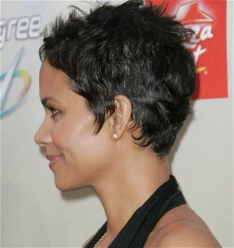halle berry short pixie wig short synthetic pixie boy cut halle berry style sassy wig