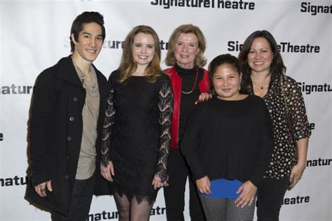 photo coverage inside opening night of signature theatre