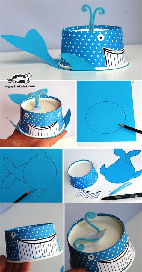 How To Make Sea Animals Out Of Paper - 17 best ideas about sea animal crafts on