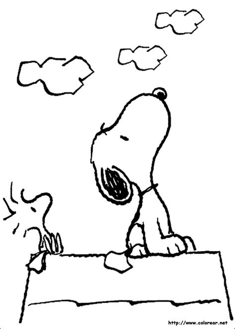 snoopy coloring pages free coloring pages of woodstock y snoopy