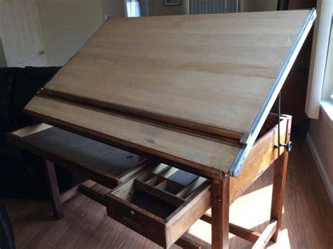 vintage hamilton drafting table vintage hamilton economy drafting table tables drafting