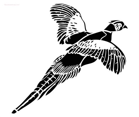 Letter Home Decor by Pheasant Stencil To Buy Online Now