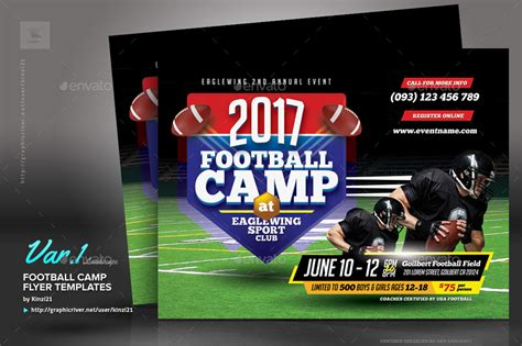 free football flyer templates football c flyer templates by kinzi21 graphicriver