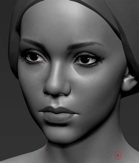 zbrush tutorial realistic face artstation kamilla 20 eugene fokin zbrush tutorial