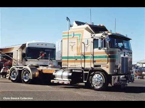 history of kenworth trucks kenworth cabover history easyposters