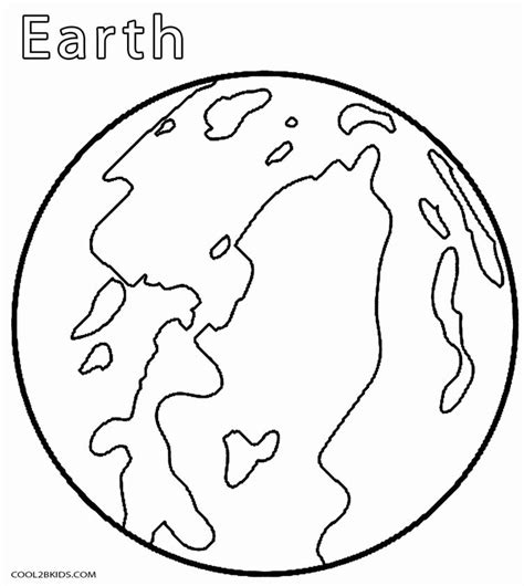 what color is the earth printable planet coloring pages for cool2bkids