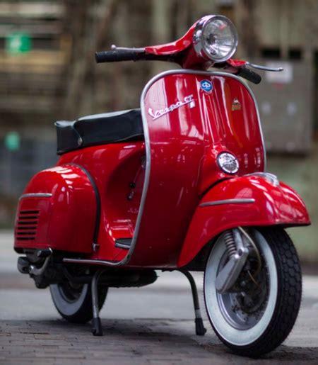 Oldtimer Motorrad Lack by Vespa Gtr Rosso Corallo 880 Originallack Vespa