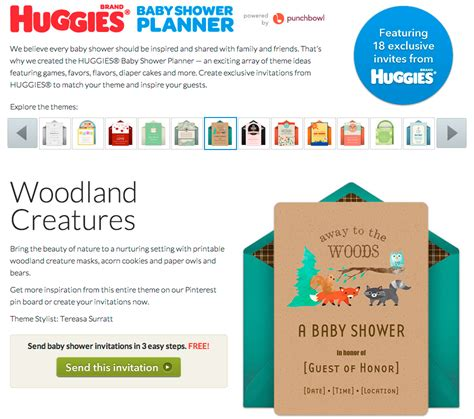 Punchbowl Baby Shower by Punchbowl Partner Huggies Nominated For A Shorty Award