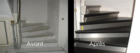 Escalier Bois Et Noir by R 233 Nover Escalier Avec Du Bois Noir R 233 Novation D