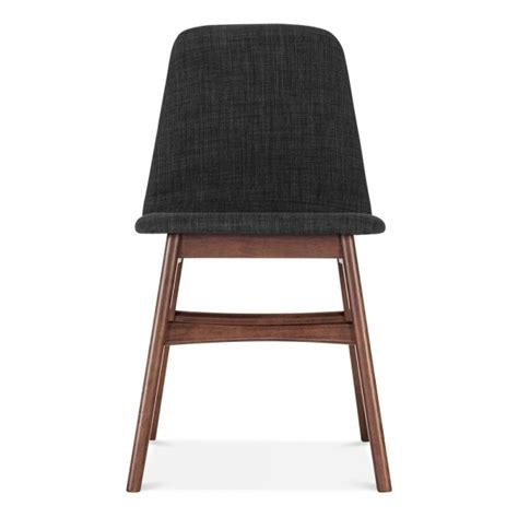 cult living amara upholstered dining chair in grey