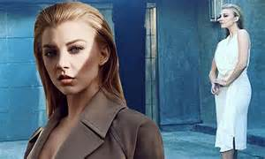 natalie dormer and tv shows natalie dormer shows sideboob in photoshoot as she talks