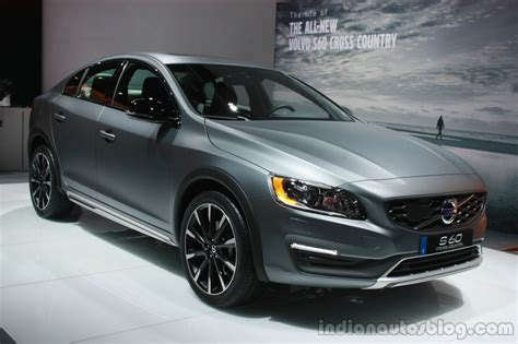 download car manuals 2012 volvo s80 head up display volvo s60 cross country at the 2015 detroit auto show